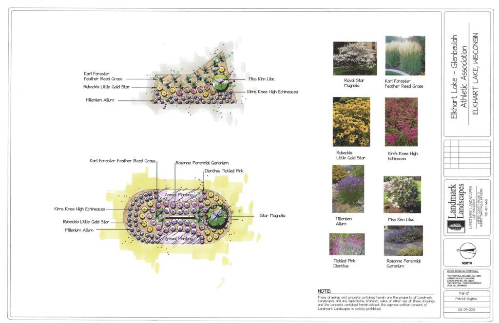 June Vollrath Park sign project plans
