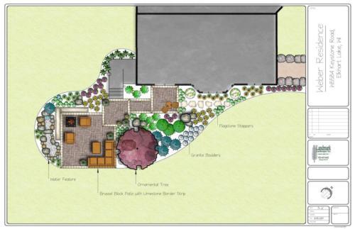 Weber Landscape Concept